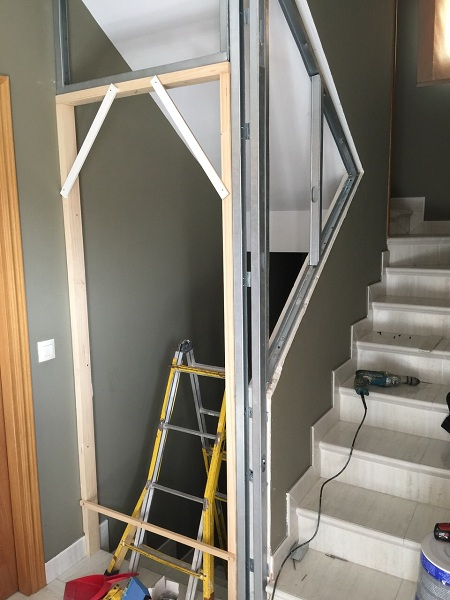 Escaleras para viviendas las escaleras que se convierten en rampa escaleras modernas ideas - Escaleras para viviendas ...